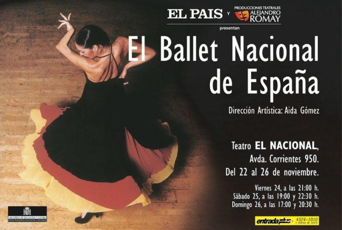 El Ballet Nacional de España (2000) - Teatro El Nacional Temporadas