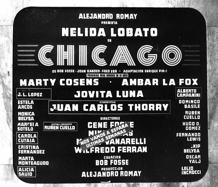 CHICAGO 1977 - Teatro El Nacional Temporadas