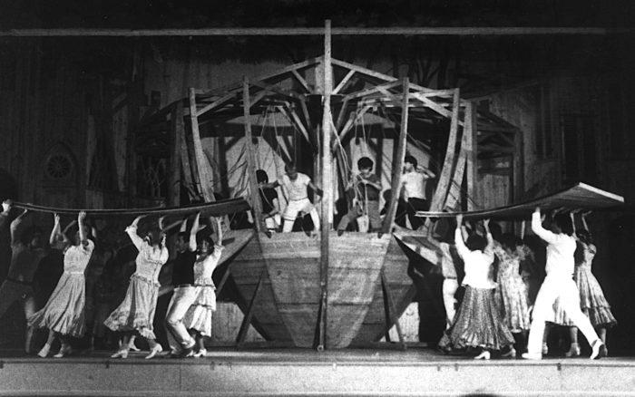 El Diluvio Que Viene 1979 - Teatro El Nacional Temporadas