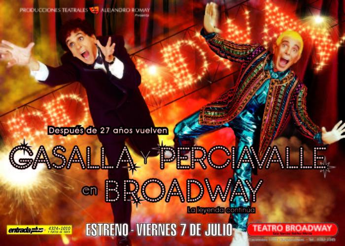 Gasalla y Persiavalle - Producciones Teatrales Alejandro Romay