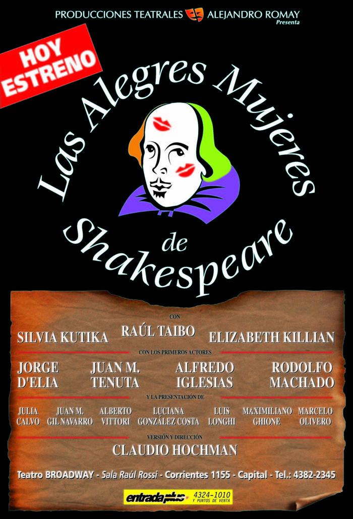 Las Alegres Mujeres de Shakespeare 1999 - 2000 - Teatro El Nacional Temporadas