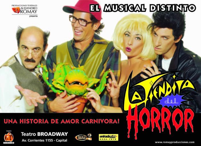 Tiendita del Horror 2001 - Teatro El Nacional Temporadas
