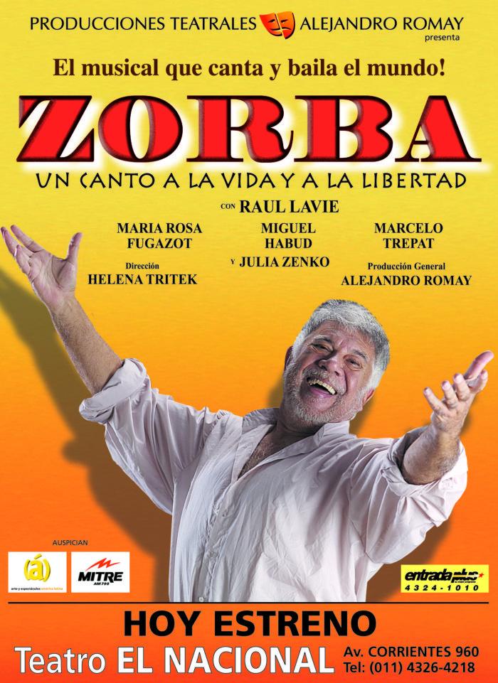 Zorba 2003 - Teatro El Nacional Temporadas