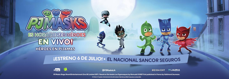 PJ MASKS Teatro El Nacional Sancor Seguros