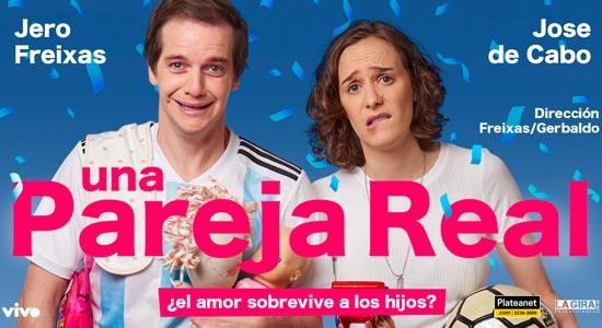 Jero Freixas y Jose de Cabo en el Teatro El Nacional Sancor Seguros
