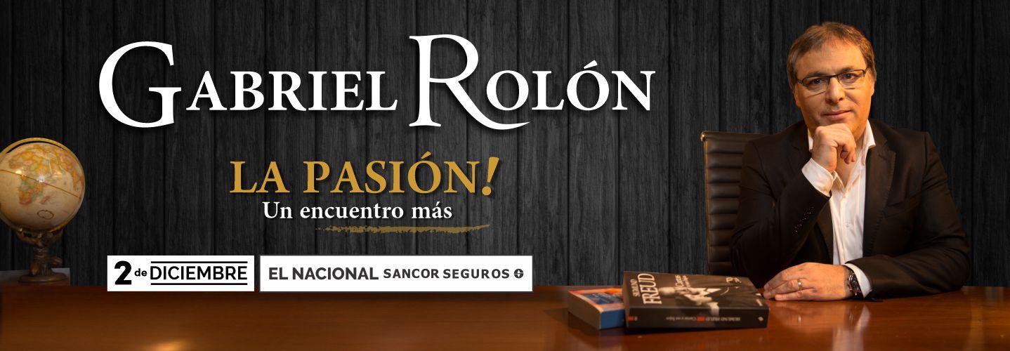 Gabriel Rolon - Teatro El Nacional Sancor Seguros