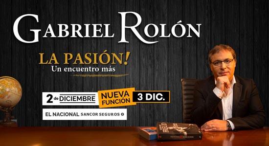 Gabriel Rolon - El Nacional Sancor Seguros