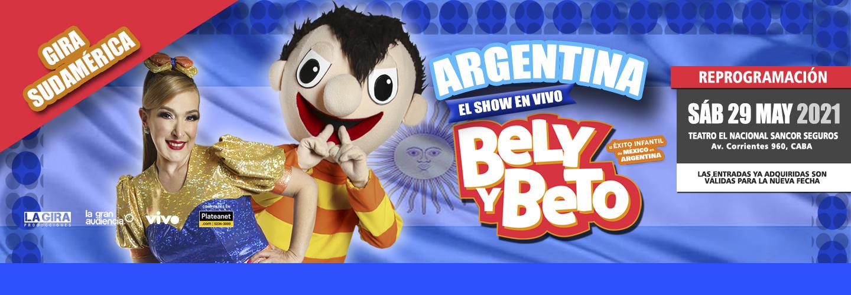Bely y Beto - Teatro El Nacional Sancor Seguros
