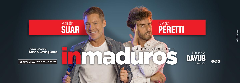 Inmaduros - Adrian Suar - Diego Peretti - El Nacional Sancor Seguros